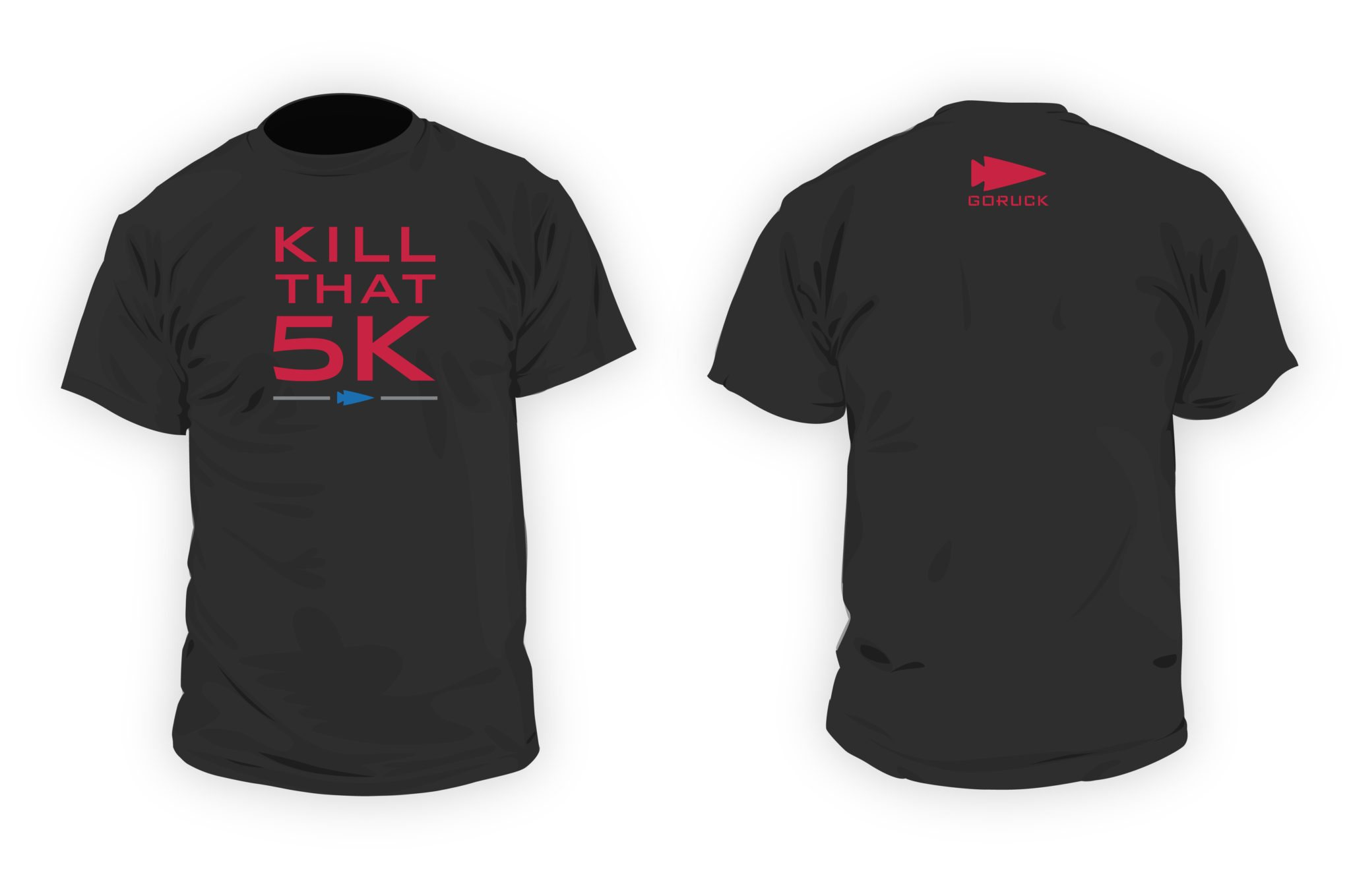 Kill That 5k Shirt Black