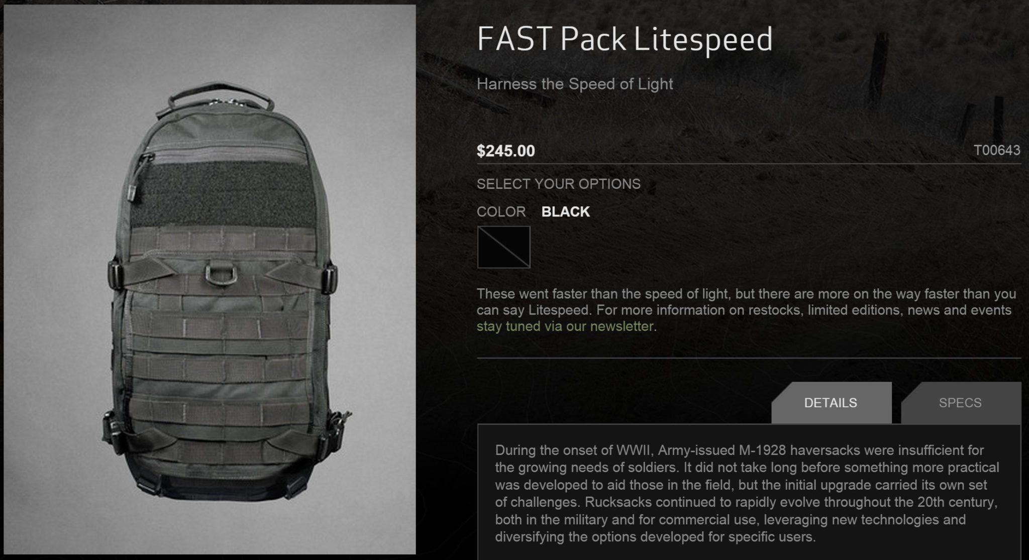 TAD-Litespeed-Webiste-Screenshot