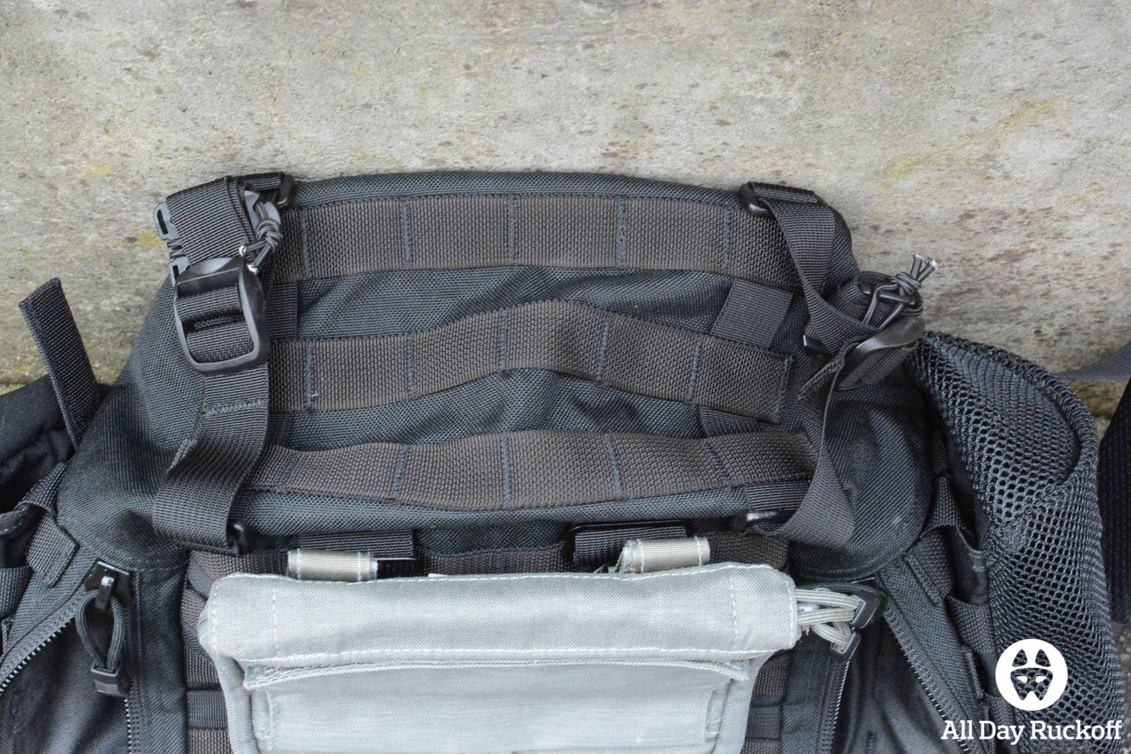 Triple Aught Design Litespeed Review - Bottom MOLLE
