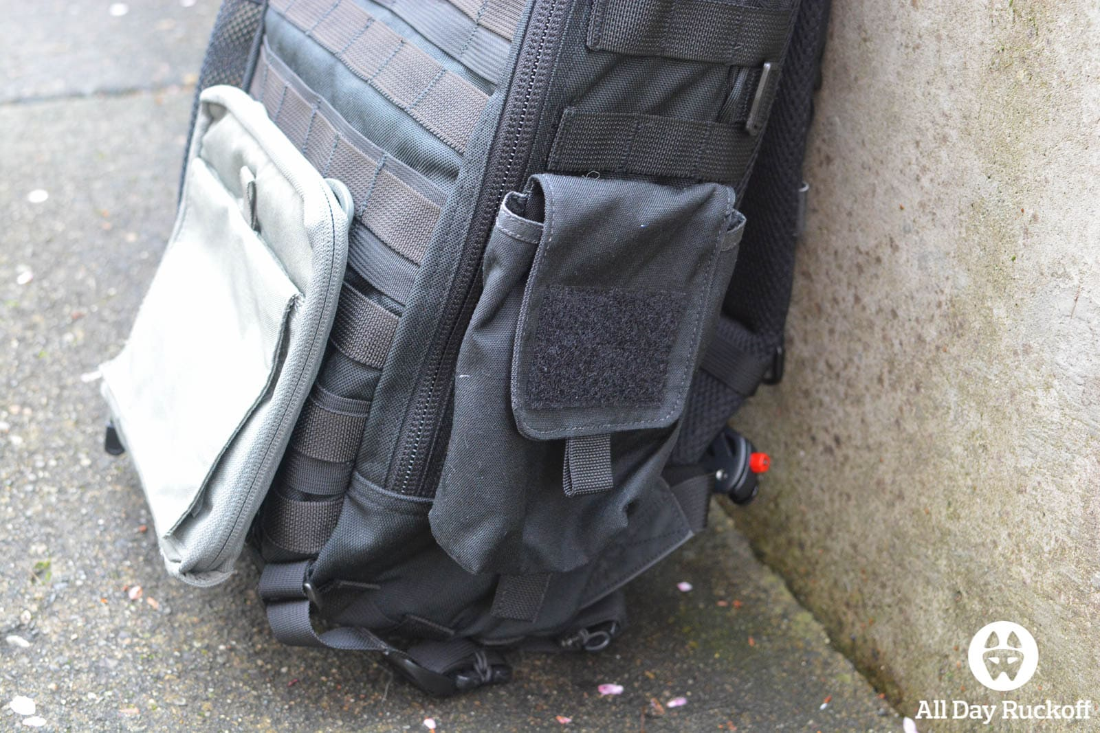 Triple Aught Design Litespeed Review - GORUCK Side Pocket