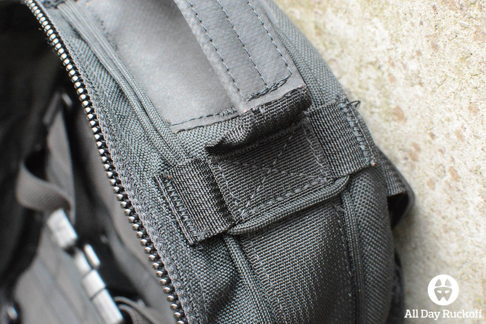 Triple Aught Design Litespeed Review - Handle Stitching