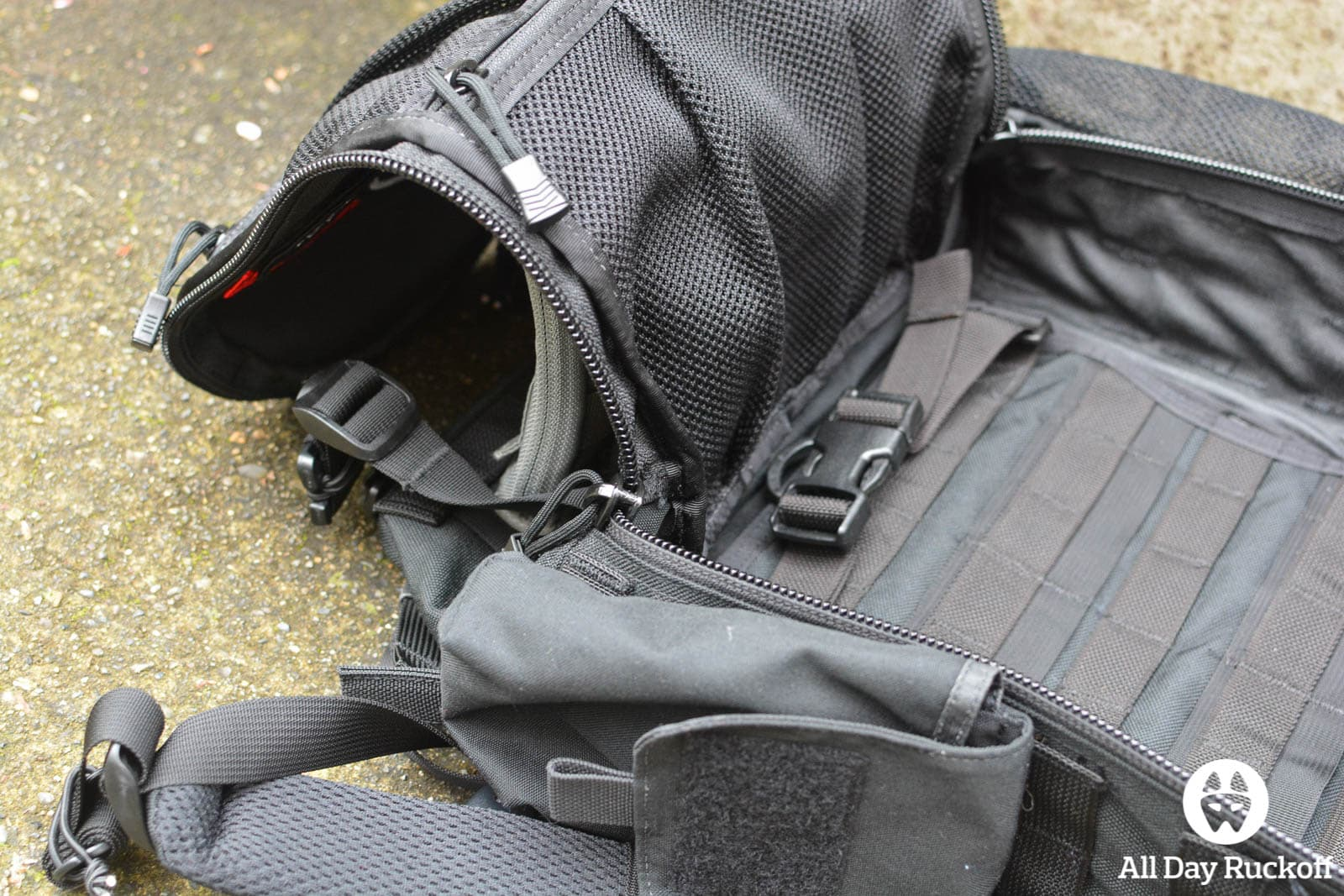 Triple Aught Design Litespeed Review - Near Complete Opening Inside