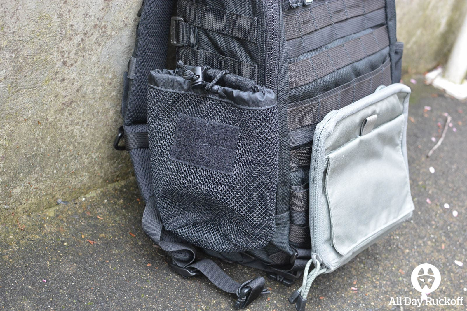Triple Aught Design Litespeed Review - Water Bottle Pocket
