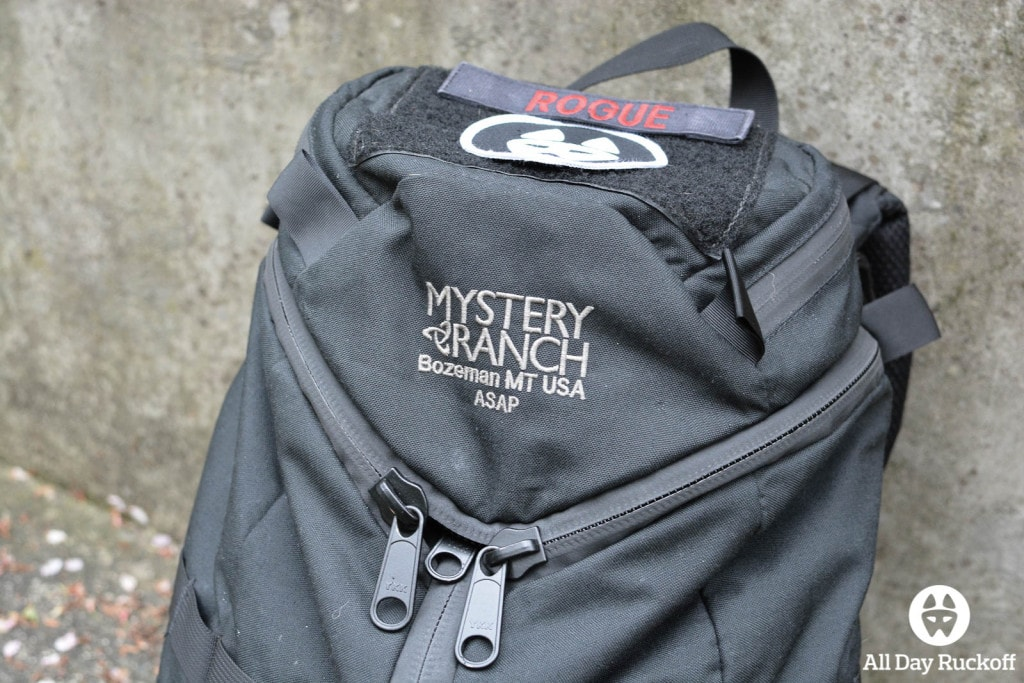 Mystery Ranch ASAP Branding
