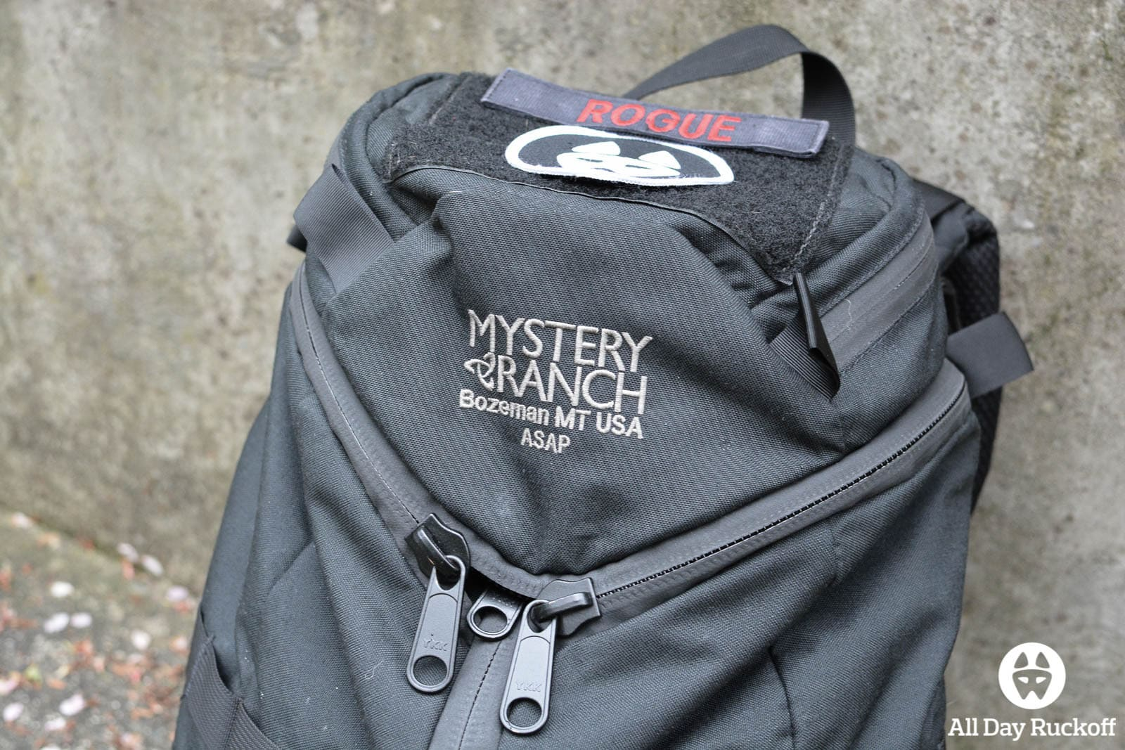 Mystery Ranch ASAP Branding