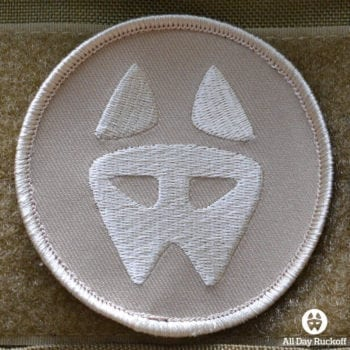 ADR Dog Logo Patch