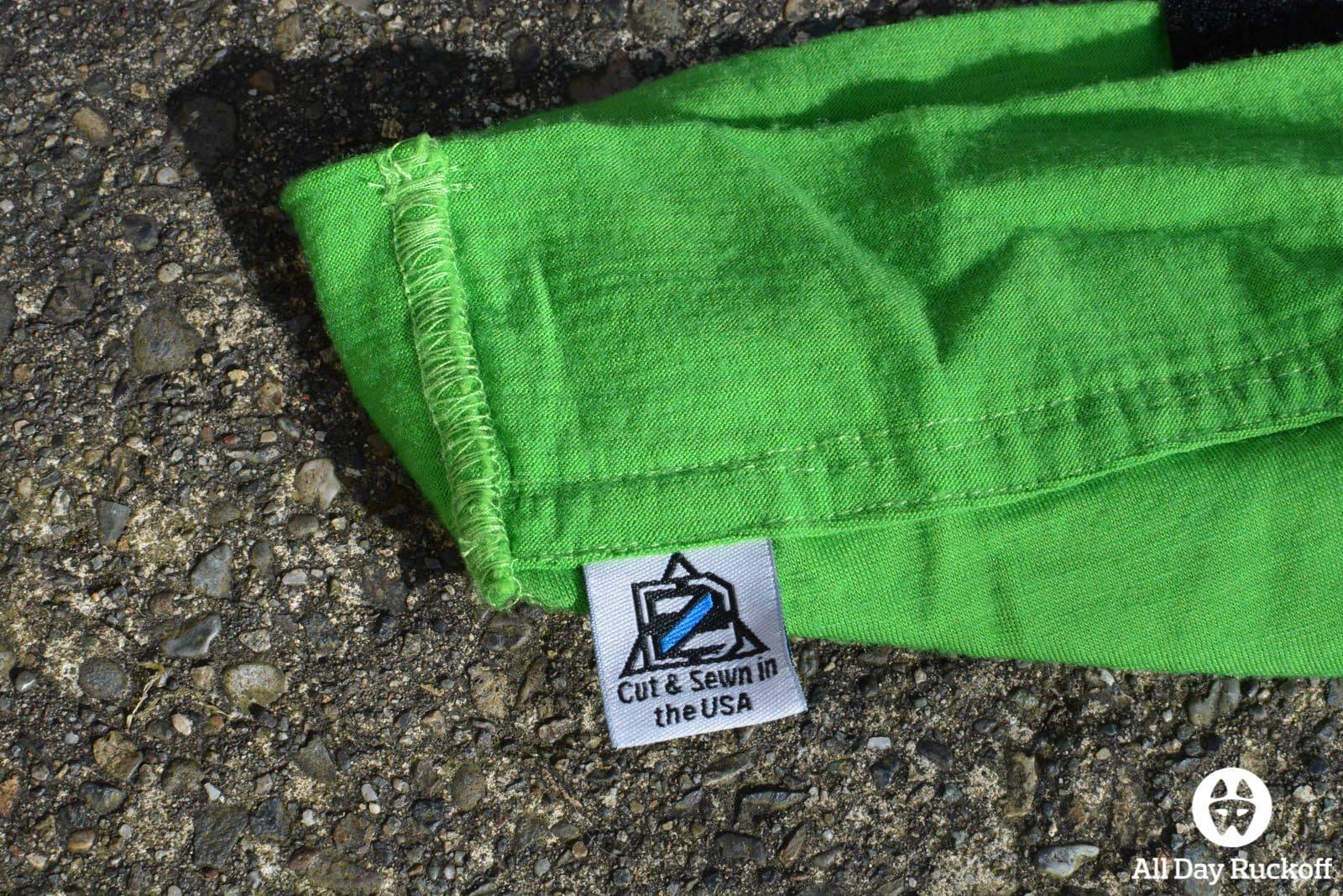 DZ Cap Green Tag