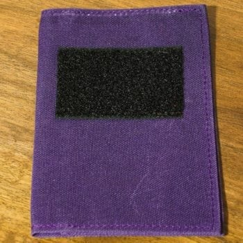 Waxed Canvas Notebook Cover