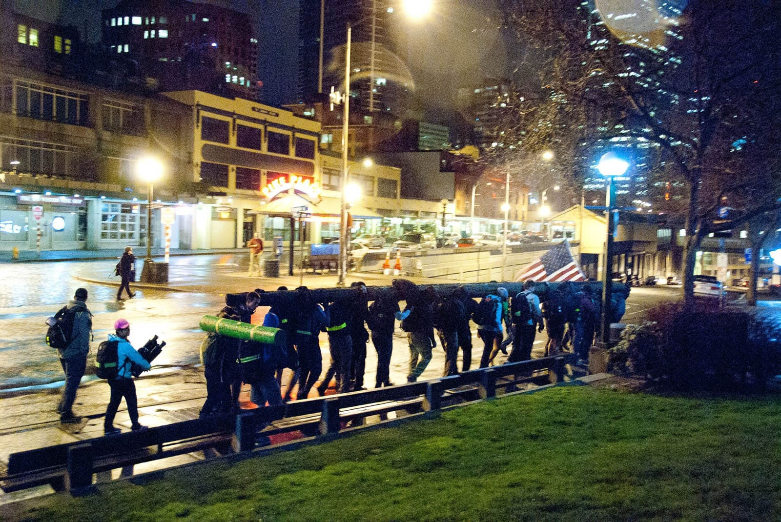 GORUCK Challenge 1395 - Logs in Seattle