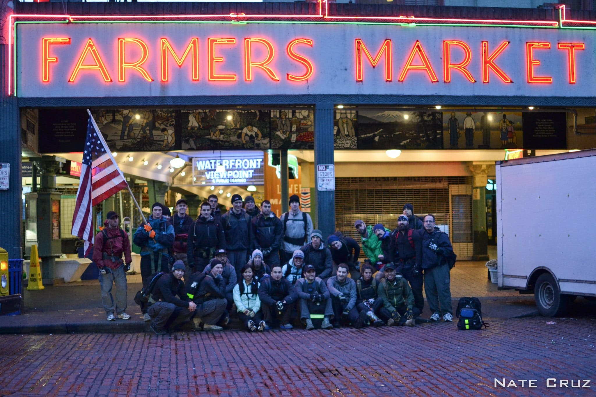 GORUCK Challenge 1395 - Market Group Photo