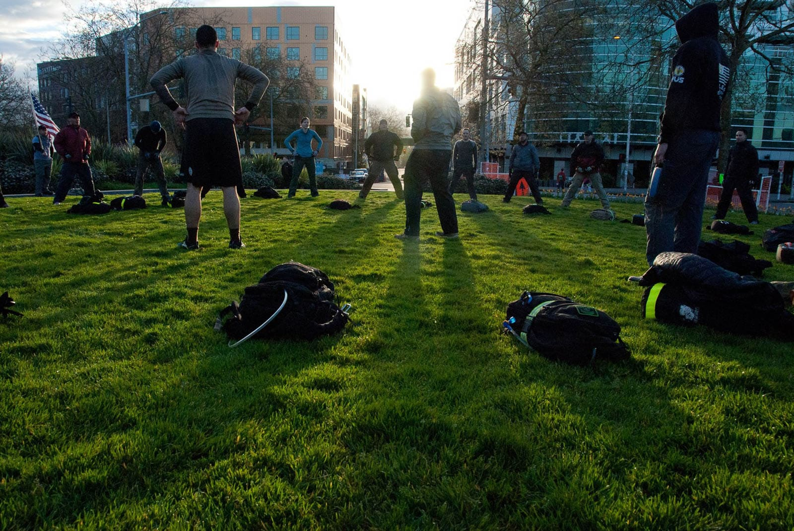 GORUCK Challenge 1395 – Morning Workout