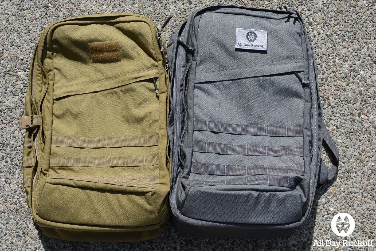 GR2 Comparison -  Front