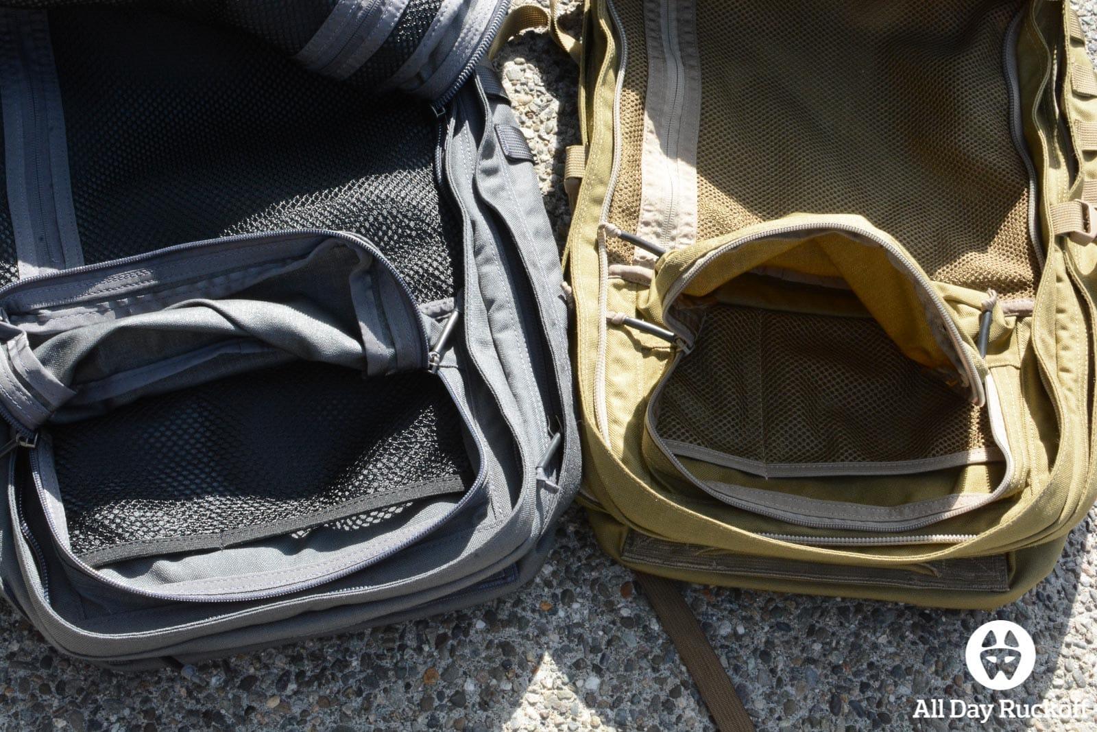 GR2 Comparison - Internal Pocket