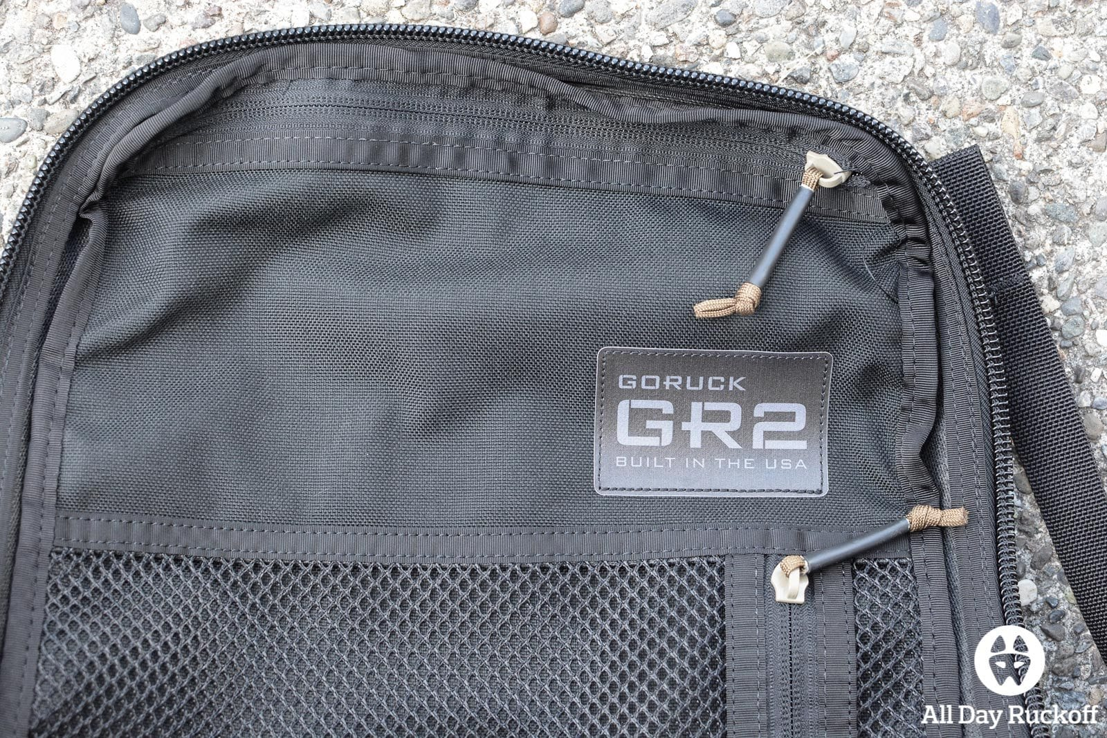 GORUCK GR2 34L - Label
