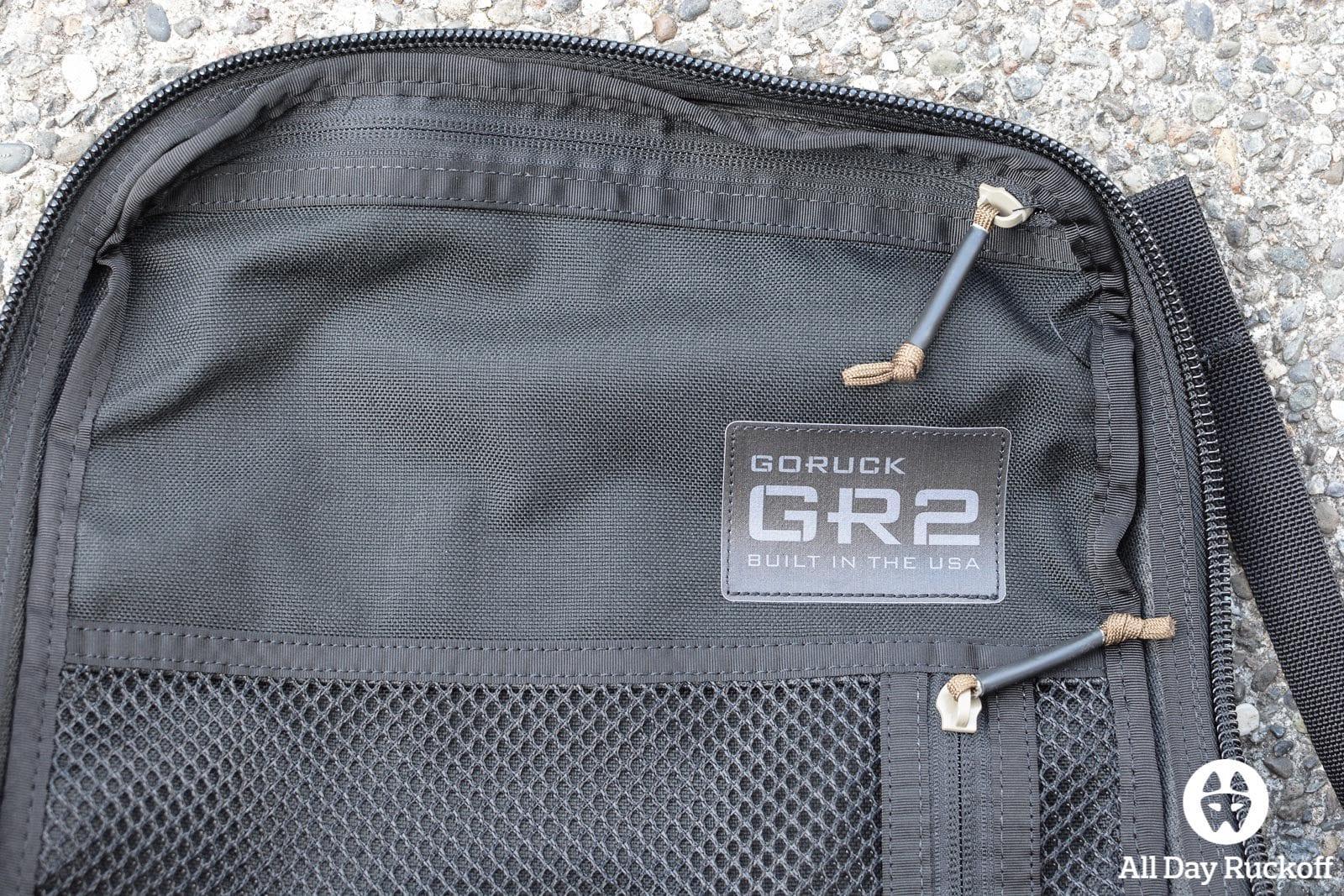 GORUCK GR2 34L - Label