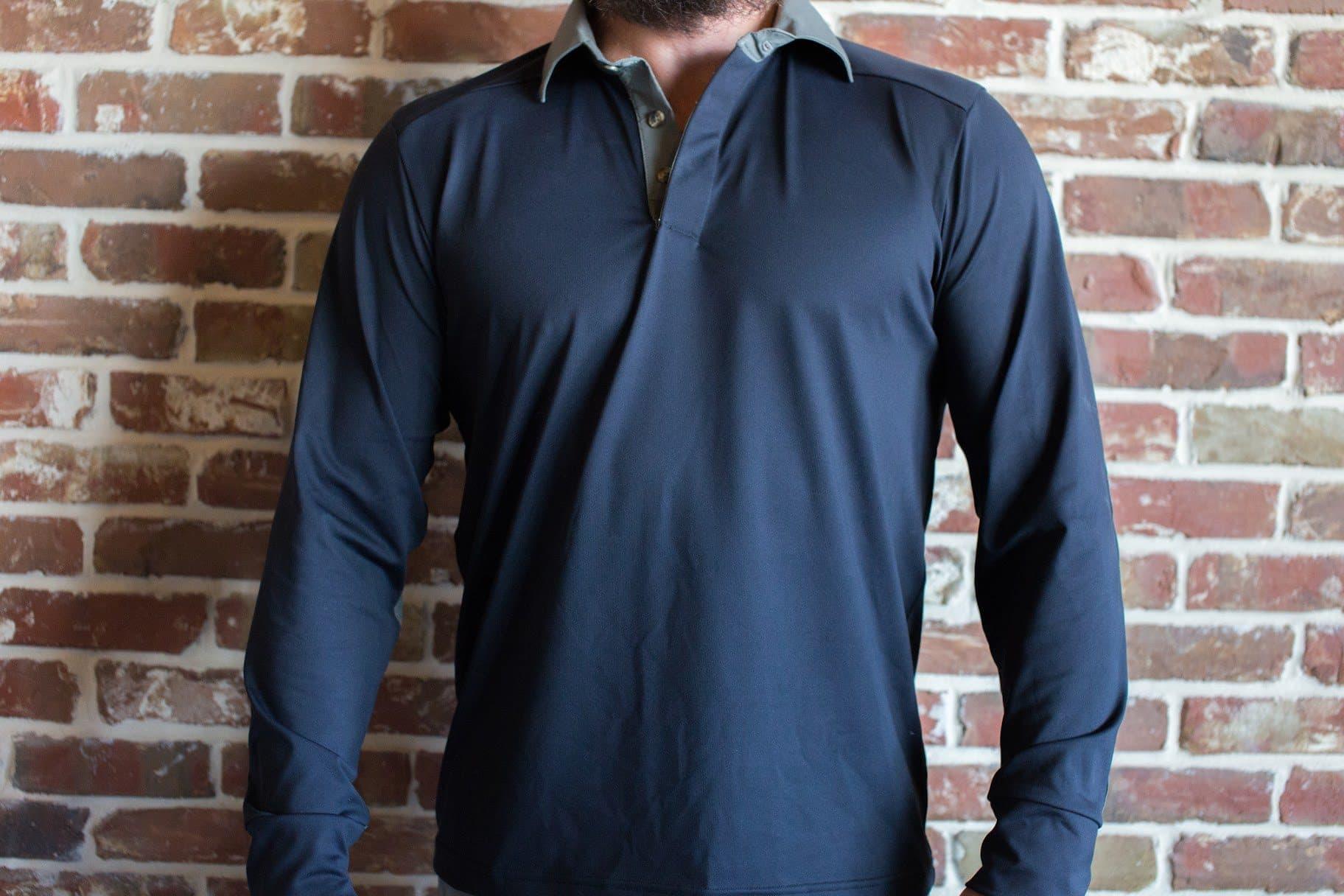 GORUCK Rucking Shirt Dark Grey Front