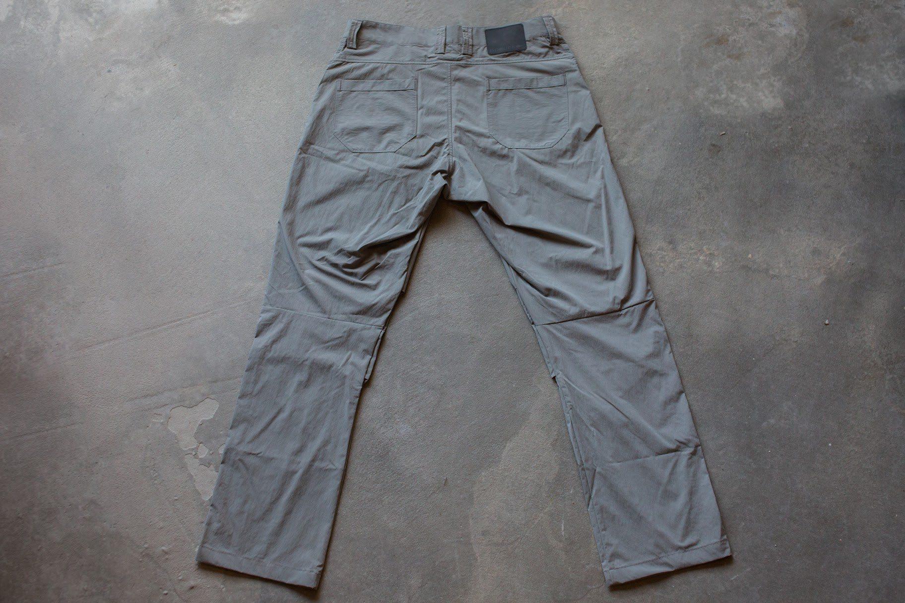 GORUCK Simple Pant Dark Grey Back
