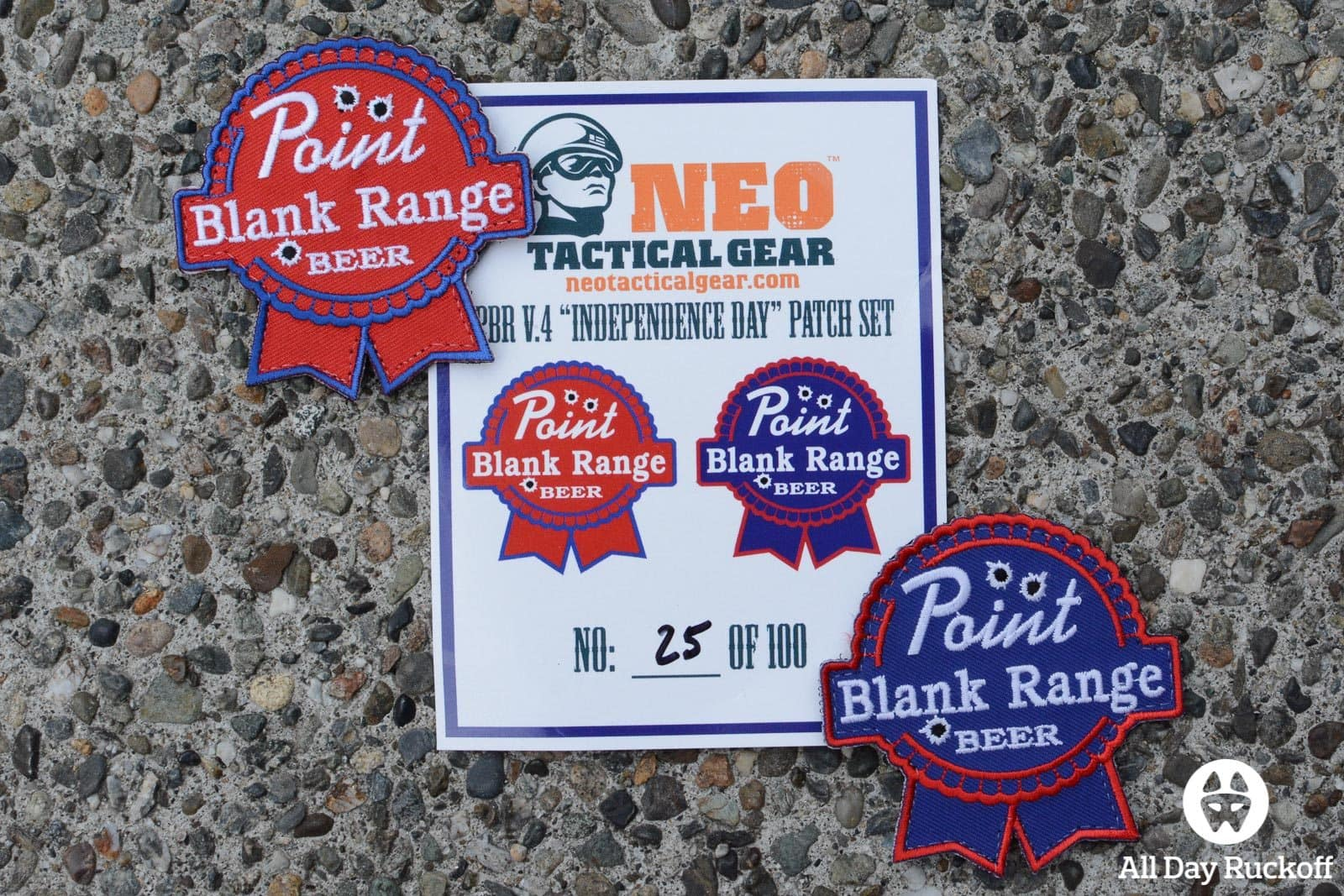 Neo Tactical PBR V4 Patches - Group