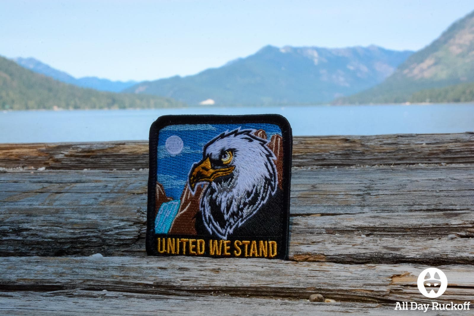 DZ USA United We Stand Patch Close Far