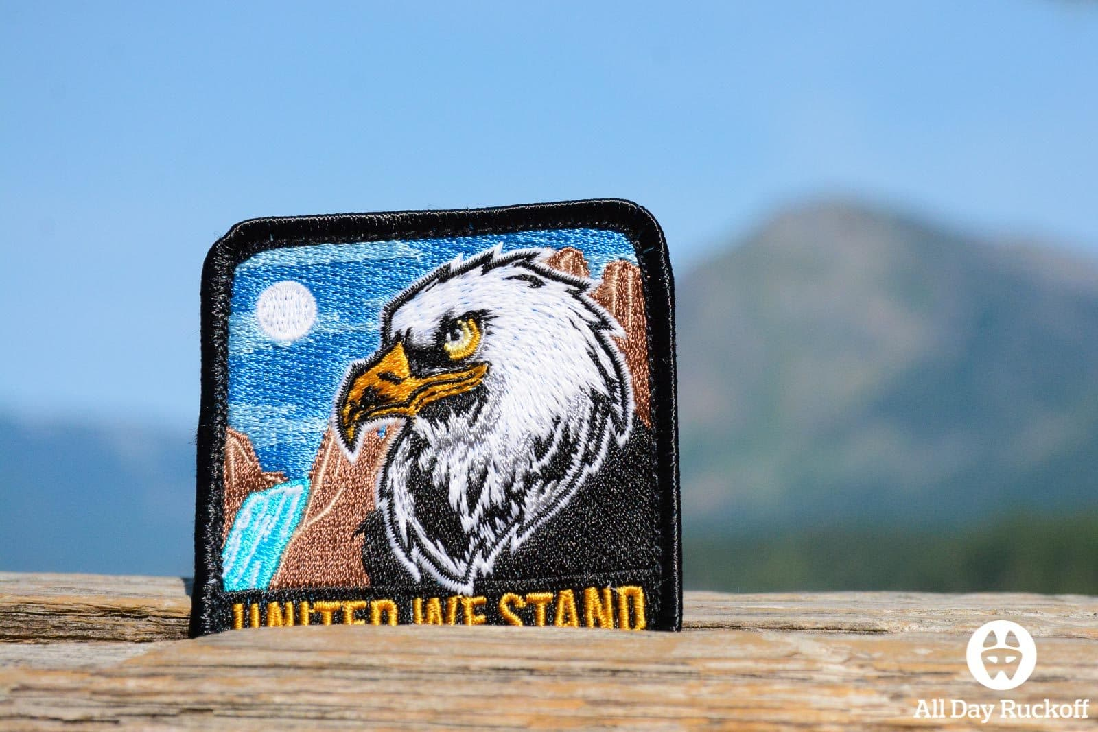 DZ USA United We Stand Patch Close