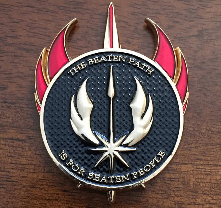 Rogue Dynamics Veterans Day WOD 15 Coin Back