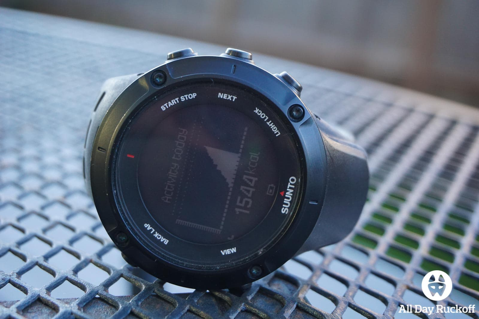 Suunto Ambit3 Peak - Activity Today