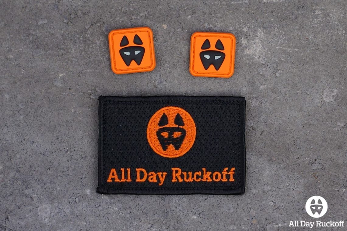 ADR Halloween Patch Set - Two Dog Eyes