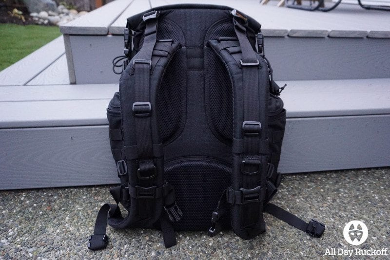 TAD FAST Pack EDC 2015 - Back