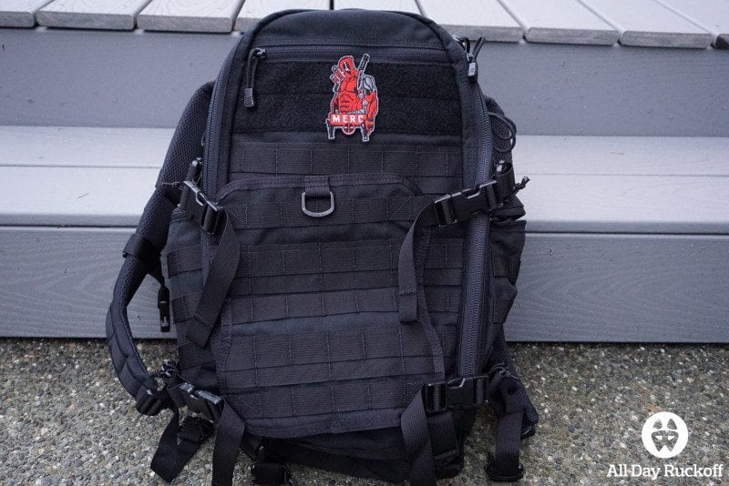 TAD FAST Pack EDC 2015 - Front