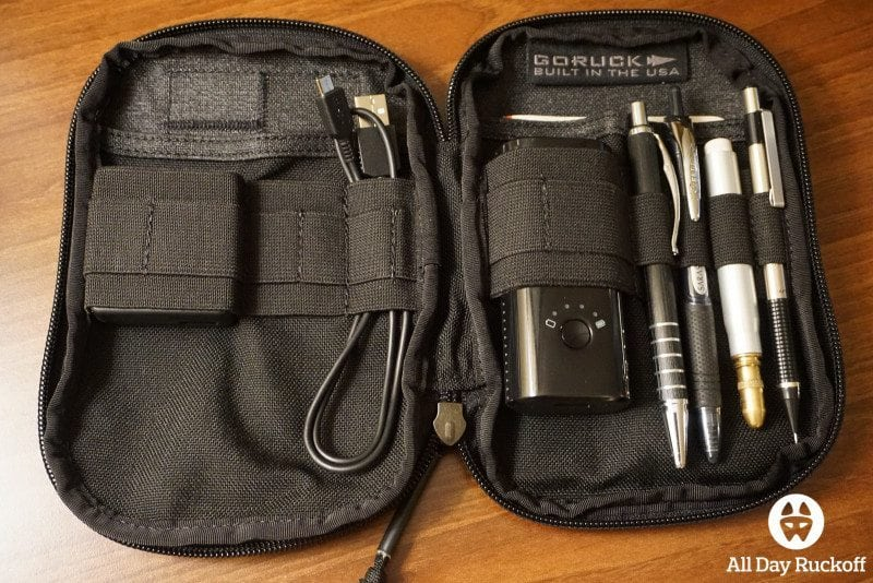 GORUCK Tool Pouch - Desk Open