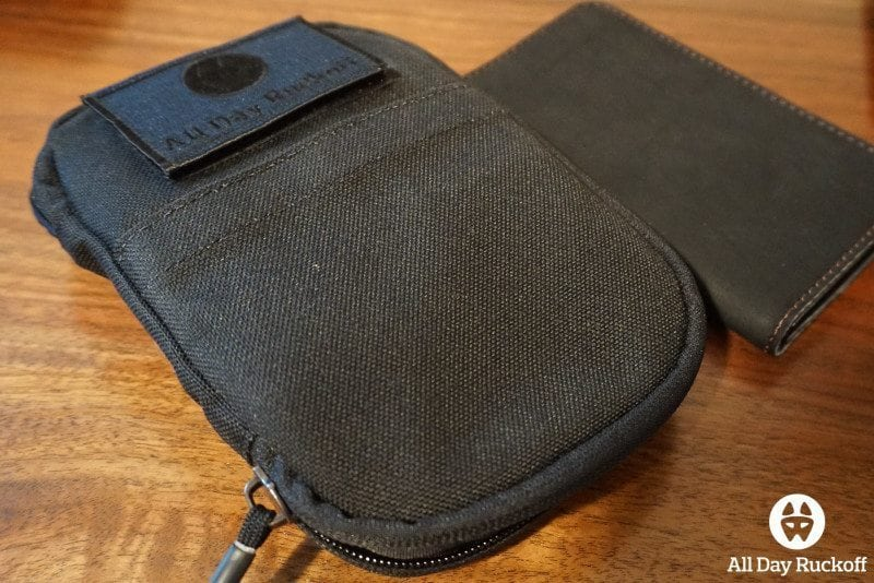 GORUCK Tool Pouch - Front desk