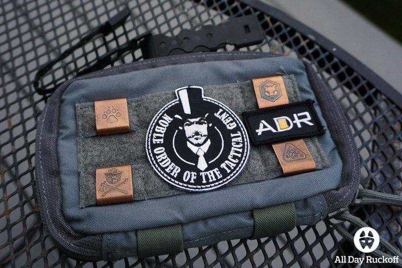 Tactical Tailor Admin Pouch Enhanced - Front Bling