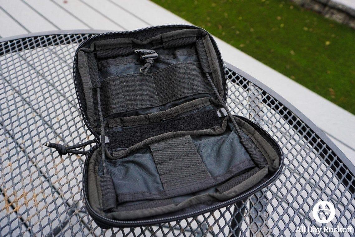 Tactical Tailor Admin Pouch Enhanced - Open Flat