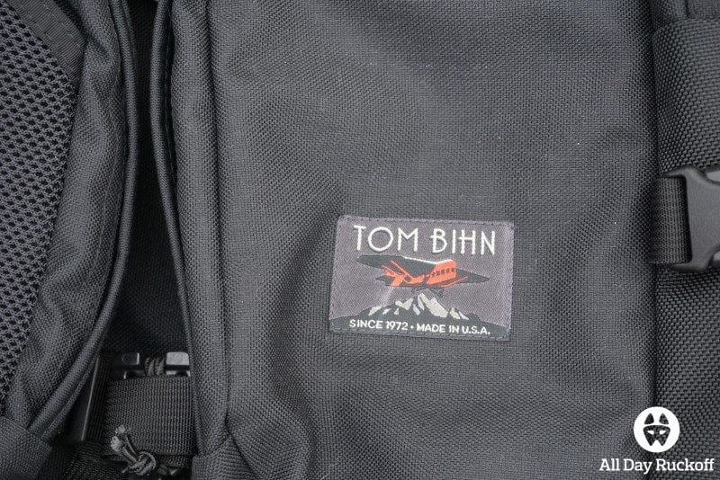Tom Bihn Brain Bag - Logo