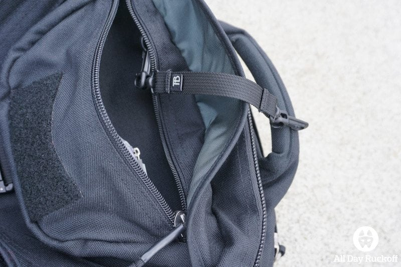 Tom Bihn Brain Bag - Pocket 1 Far