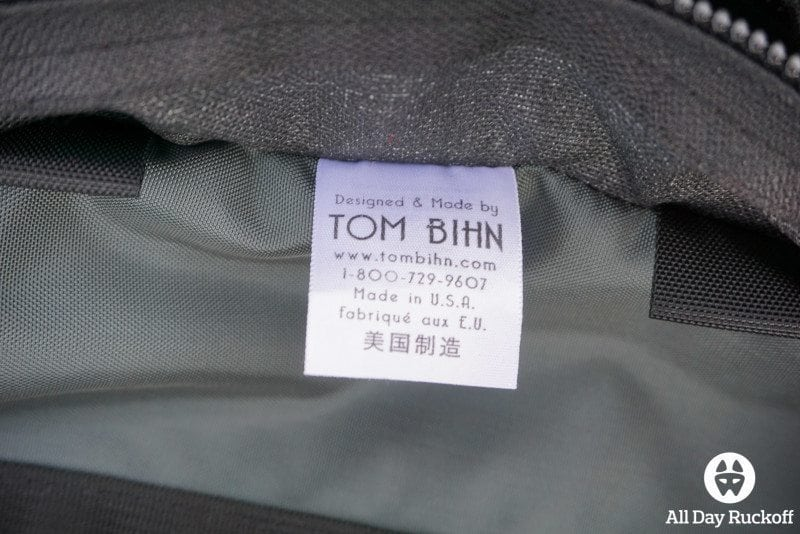 Tom Bihn Brain Bag - Tag