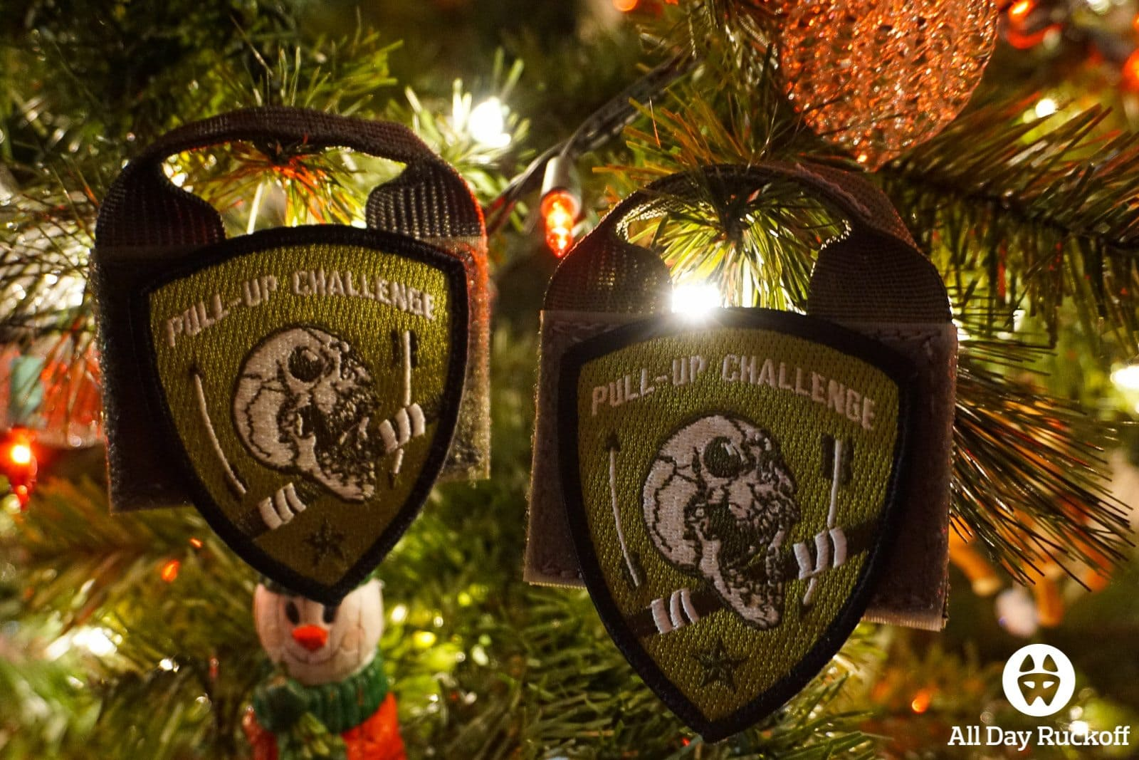 Christmas Tree Pull Up Challenge 2015