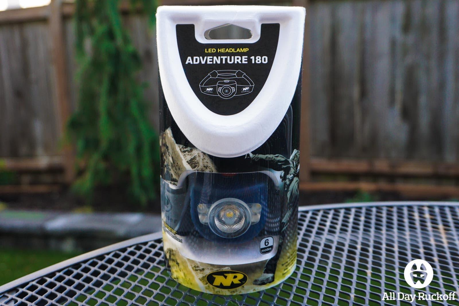 NiteRider Adventure 180 - Box Front