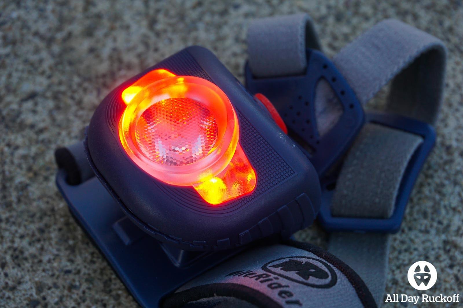 NiteRider Adventure 180 - Red Light
