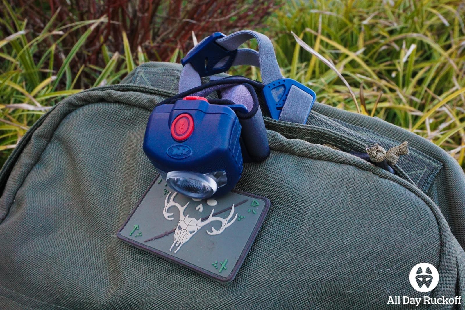 NiteRider Adventure 180 - Ruck Patch