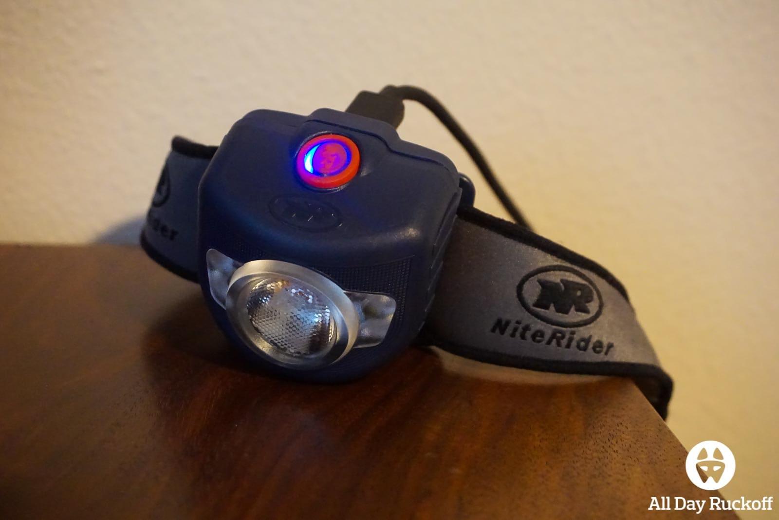 Nite Rider Adventure 180 - Charging