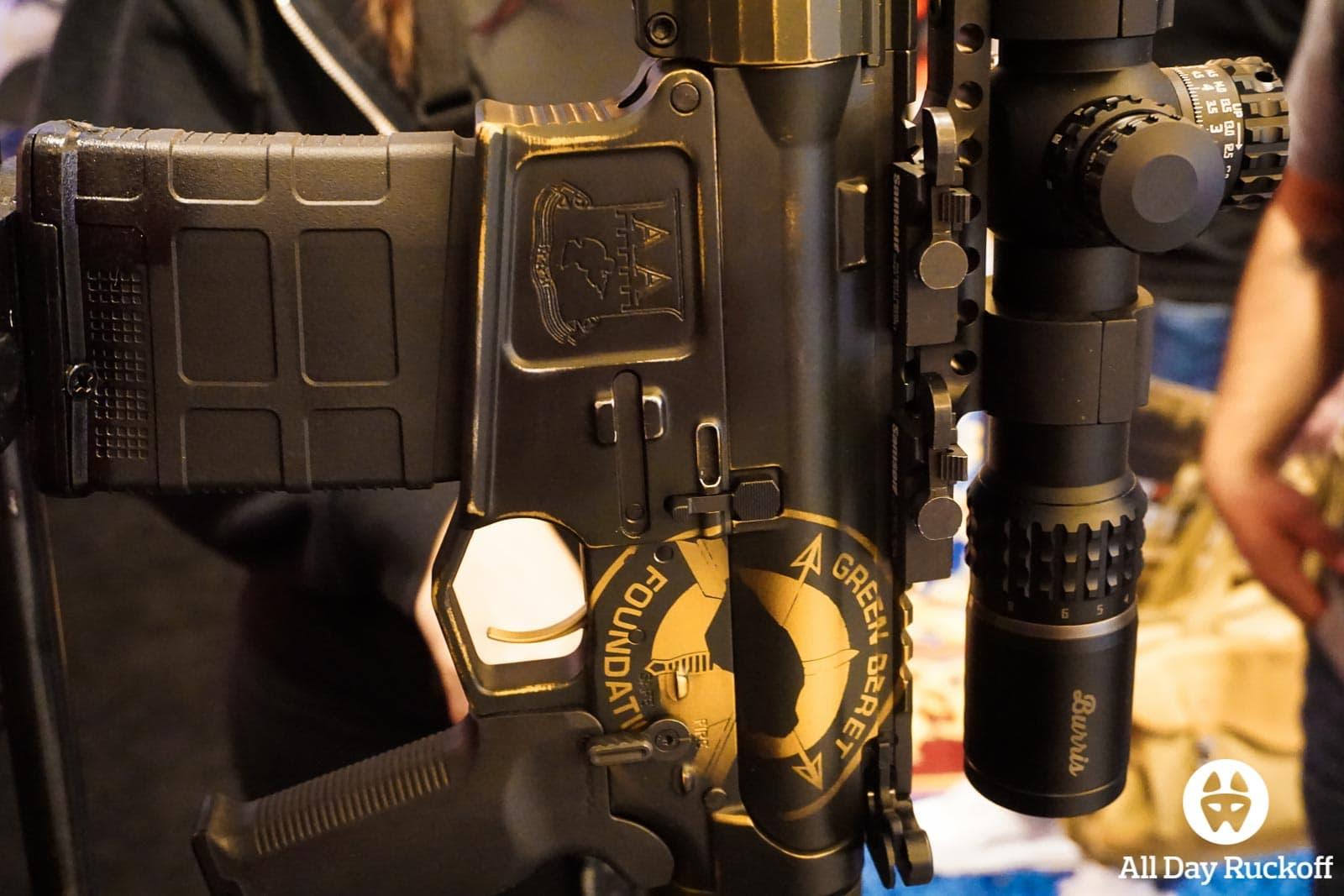 SHOT Show 2016 - GBF Rifle