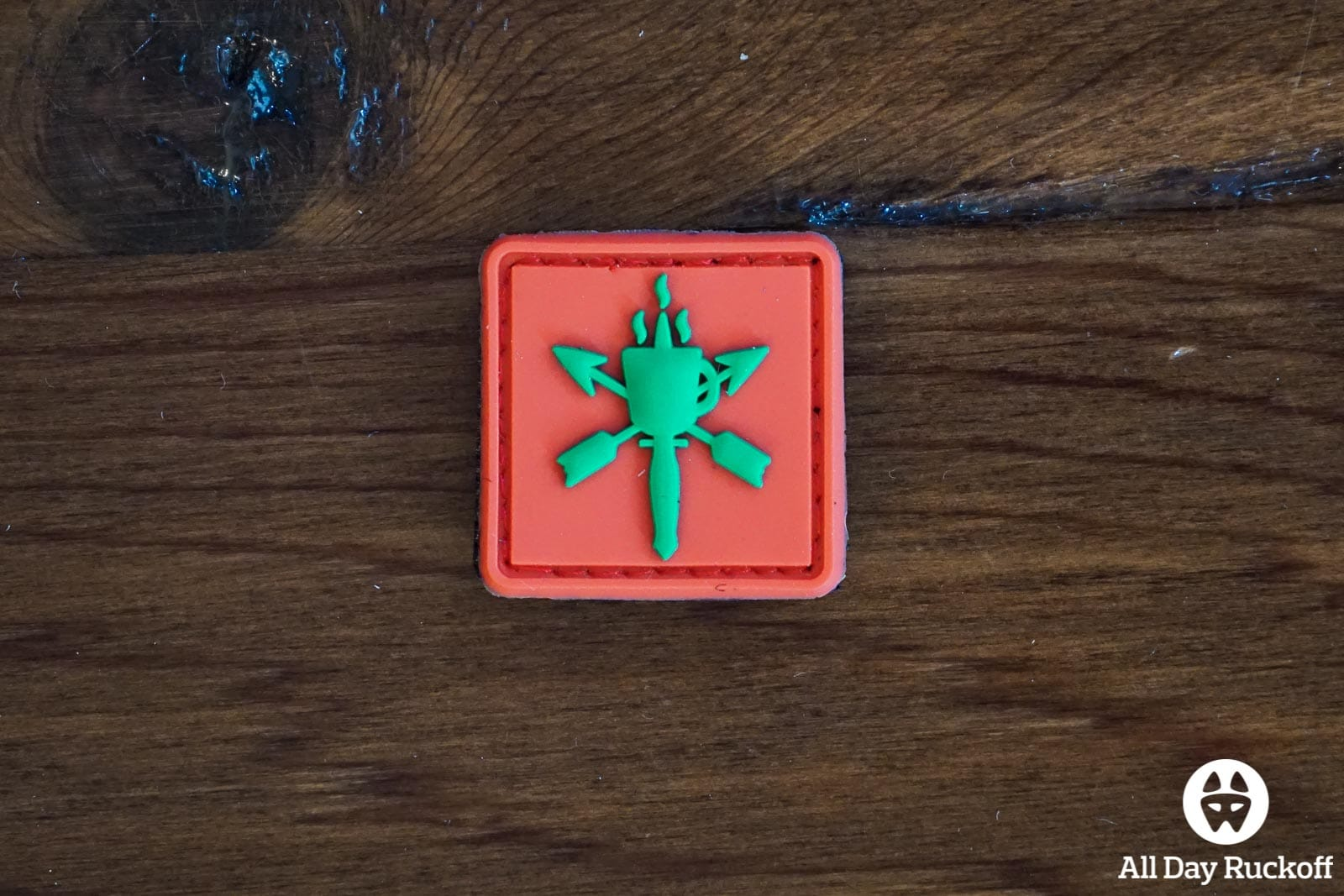 SHOT Show 2016 Patch - DEL Red
