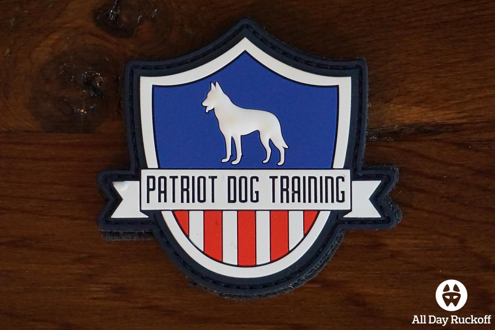 SHOT Show 2016 Patch - Patriot Dog Training