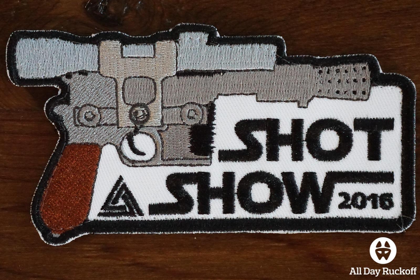 SHOT Show 2016 Patch - Triple Seven