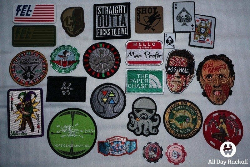 SHOT Show 2016 - Tuesday Patches
