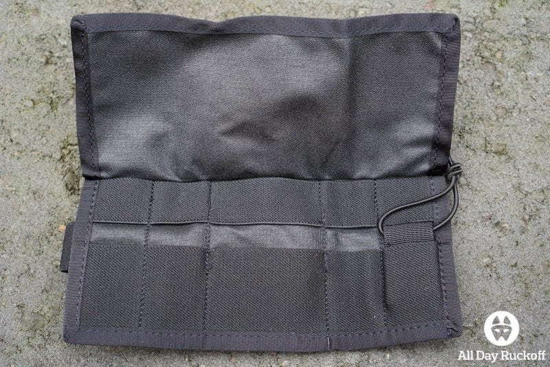 Triple Aught Design SERE Pouch 1 - Fully Open Inside