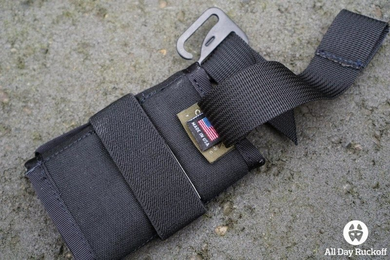 Triple Aught Design SERE Pouch 1 - Unclipped Back
