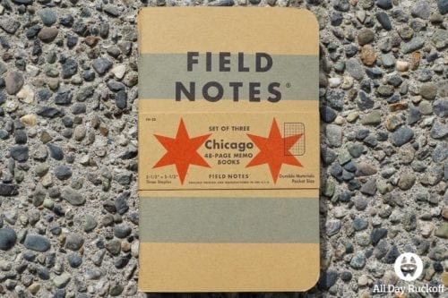 Field Notes Chicago Notebooks (3 Pack)