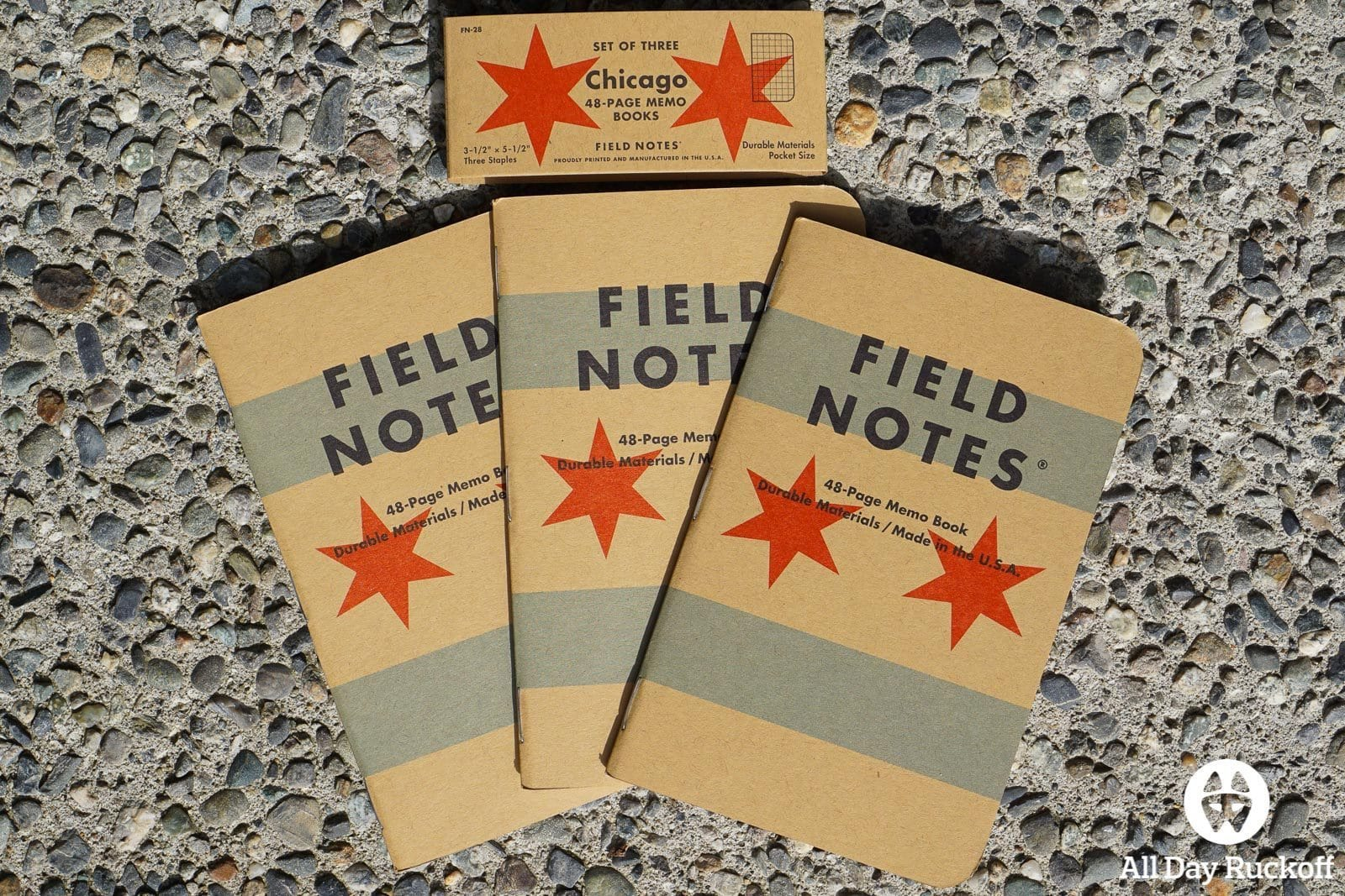 Field Notes Chicago FN-28 - Front Spread